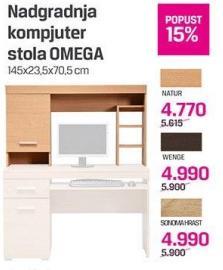Nadogradnja kompjuter stola Omega