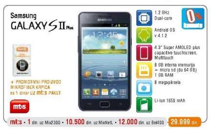 Mobilni telefon Galaxy SII Plus