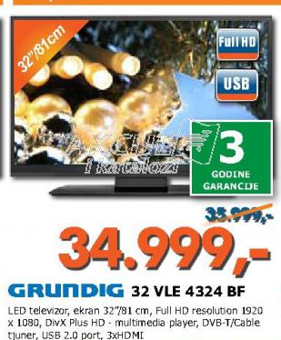 Televizor LED 32  VLE4324BF