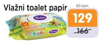 Vlažni toalet papir