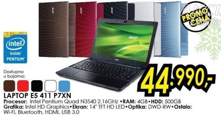 Laptop E5 411 P7xn