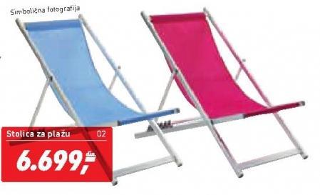 Stolica za plažu Barby