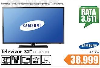 Televizor LED UE32F5000