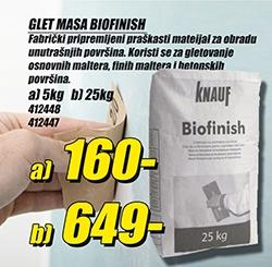 Glet masa Biofinish 5kg