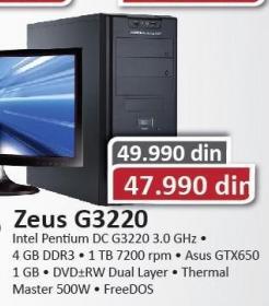 Desktop računar Zeus G3220