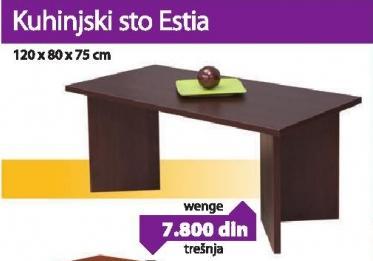 Kuhinjski sto Esta