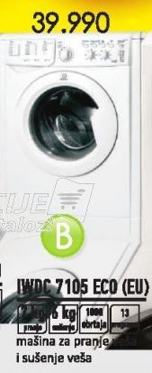 Mašina za pranje i sušenje veša Iwdc 7105 Eco Eu
