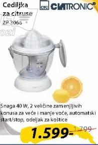 Cediljka za citruse ZP3066
