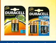 Baterije AA, Duracell