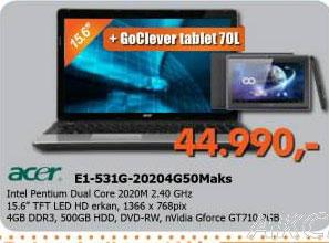 LED Televizor E1-531G-20204G50Maks+tablet