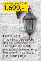 Baštenska lampa Elit ELS6312