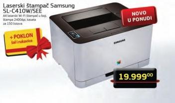 Laserski štampač SL-C410W/SEE