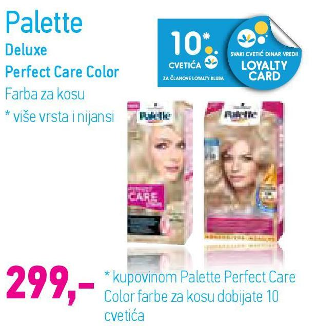 Farba za kosu Perfect Care Color