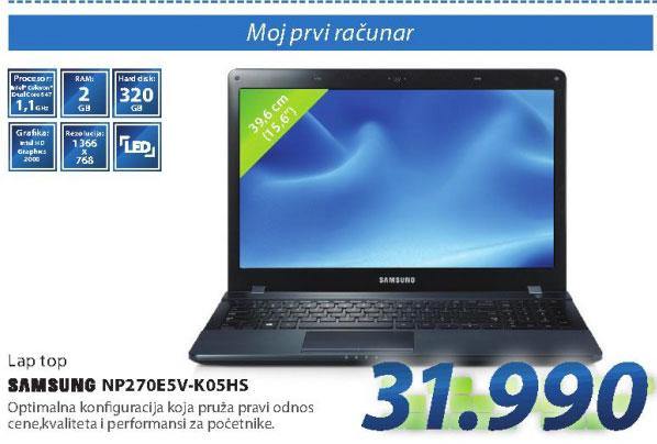 Laptop računar NP270E5V-K05HS