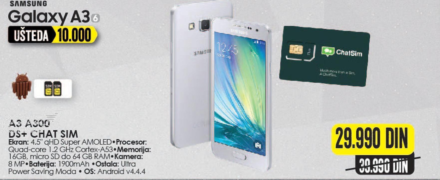 Mobilni telefon Galaxy A3 A300