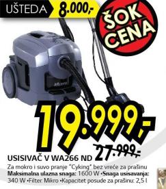 Usisivač VWA266ND