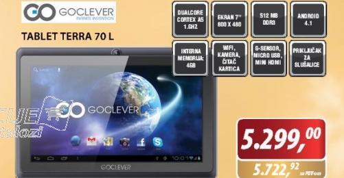 Tablet Terra 70 L