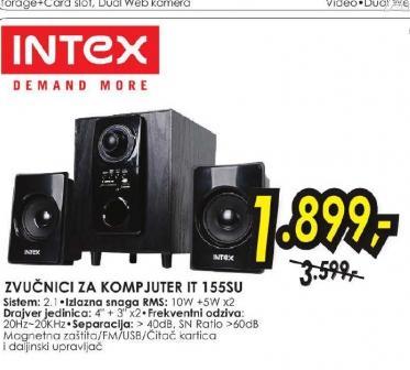 Zvučnici za kompjuter IT-155SU SD