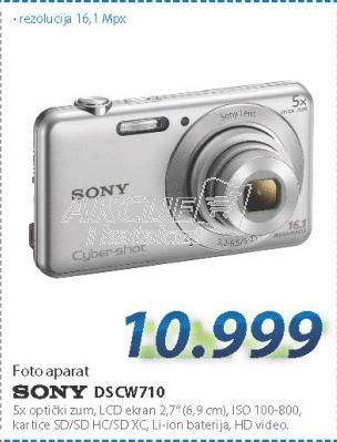 Fotoaparat DSCW710S