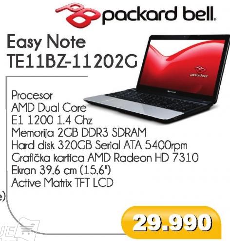 Easy Note TE11BZ-11202G