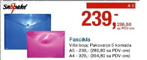 Fascikla A4