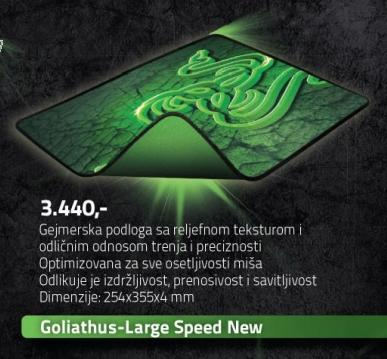 Podloga za miša Goliathus-Large Speed New Razer