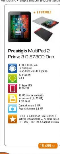 Tablet Multipad 5780