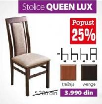 Stolica Queen Lux