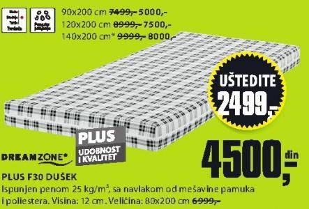 Dušek Plus F30 120x200