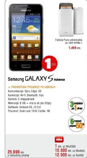 Telefon mobilni Galaxy  S advance