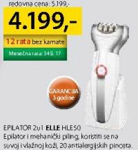 Epilator Hle50