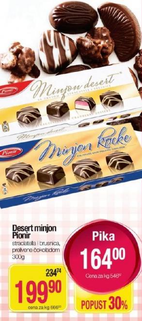 Desert Minjon kocka