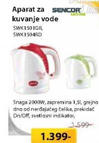 Aparat Za Kuvanje Vode  SWK1501GR/RD