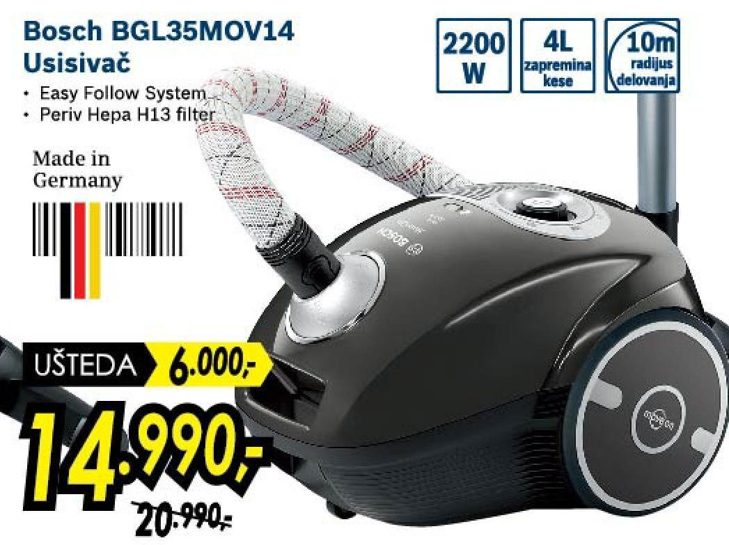 Usisivač BGL35MOV14