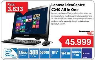 Računar AIO IdeaCentre C240