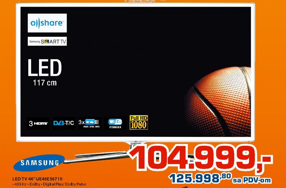 UE46ES6710 Smart 3D FullHD