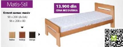 Krevet Masiv Samac