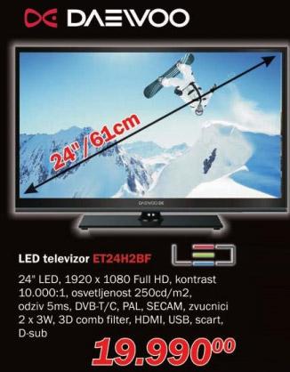 LED televizor Et24h2bf