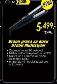 Presa za kosu ST550