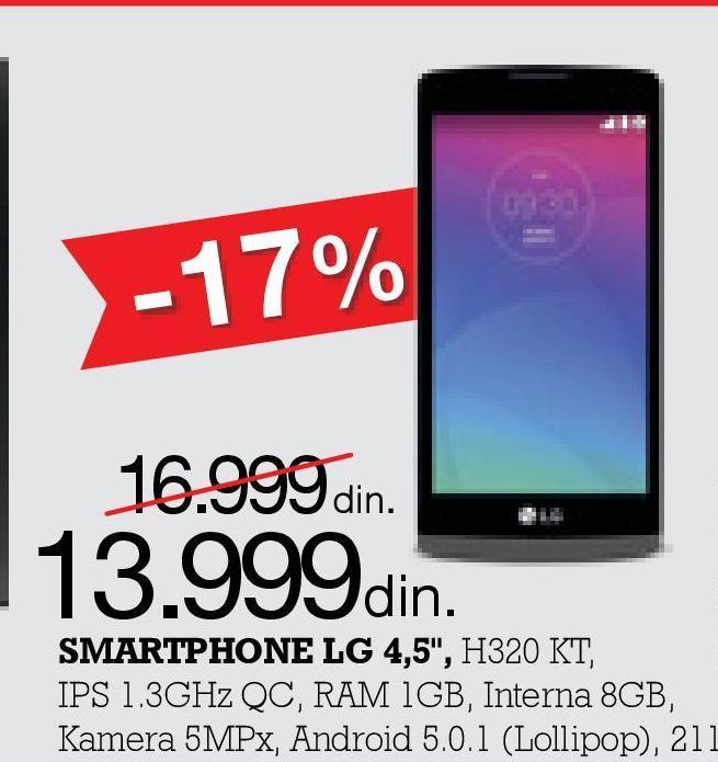Mobilni telefon Leon H320 KT