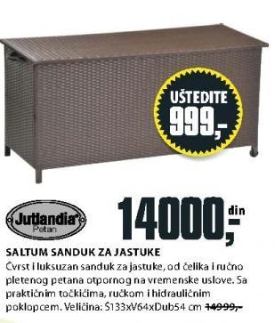 Sanduk za jastuke Saltum Jutlandia