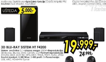 Bly-ray sistem HT-F4200