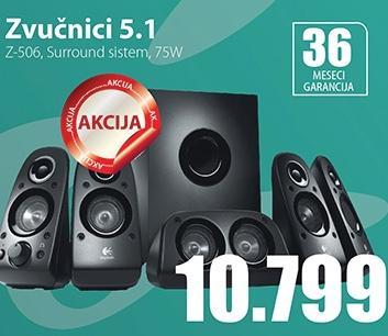 Zvučnici 5.1  Z-506