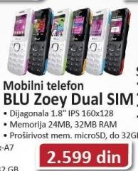 Mobilni Telefon Zoe Dual SIM