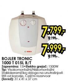 Bojler Tronic 1000t 015l b/t