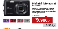 Digitalni foto-aparat S3300