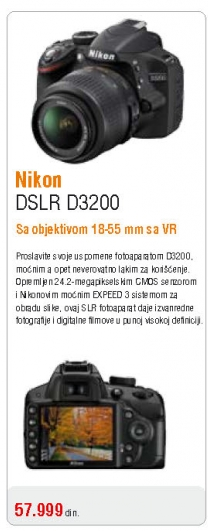 Fotoaparat Coolpix P3200
