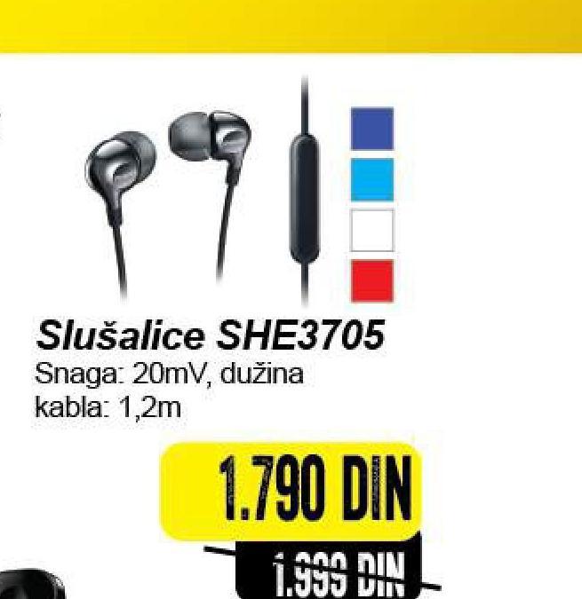 Slušalice SHE 3705