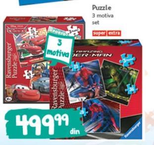 Igračka puzzle 3 motiva