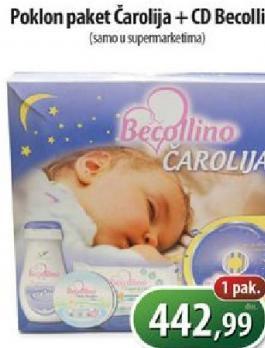 Poklon paket Carolija+CD Becolino